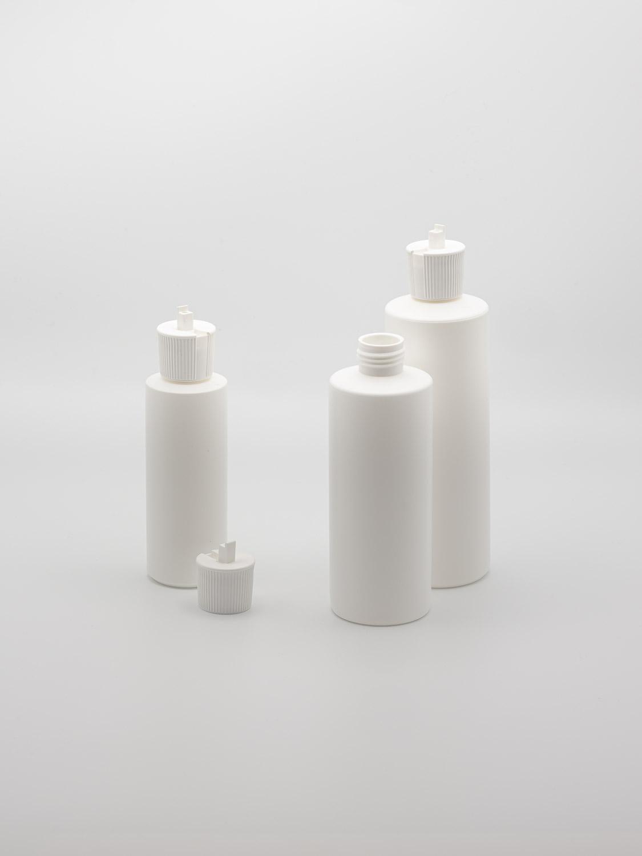 Emulsion bottle white HDPE