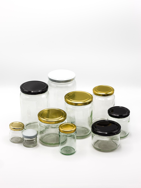 Gläser rundes Modell