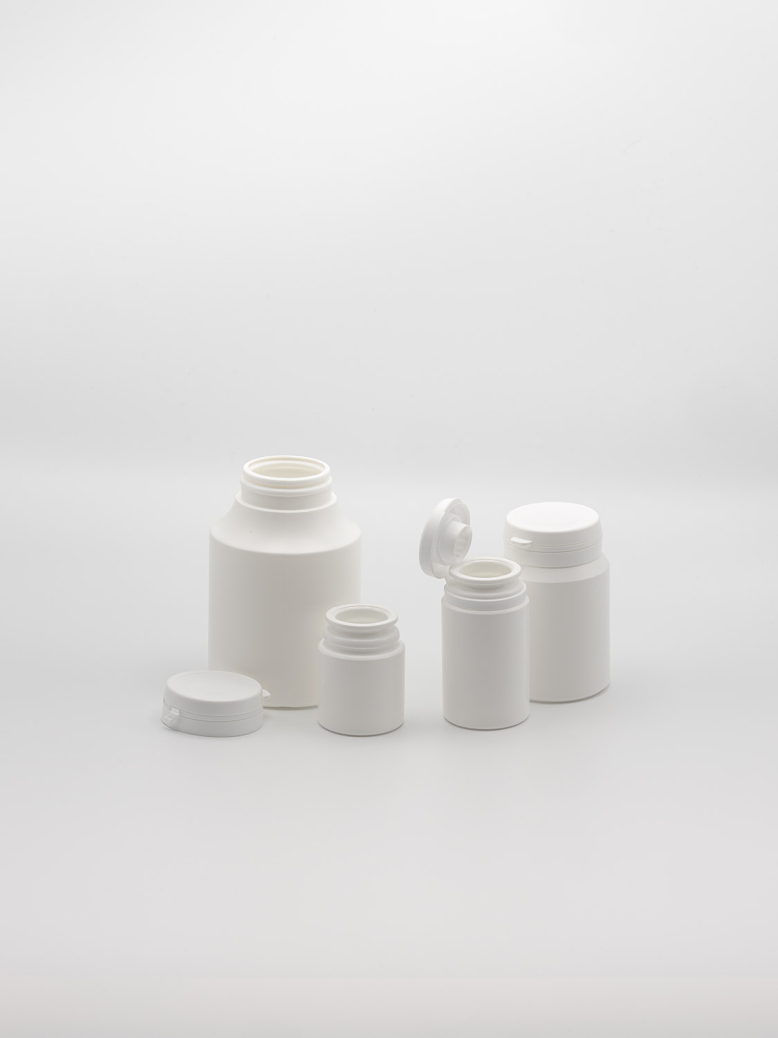 Tamper-tainer white HDPE